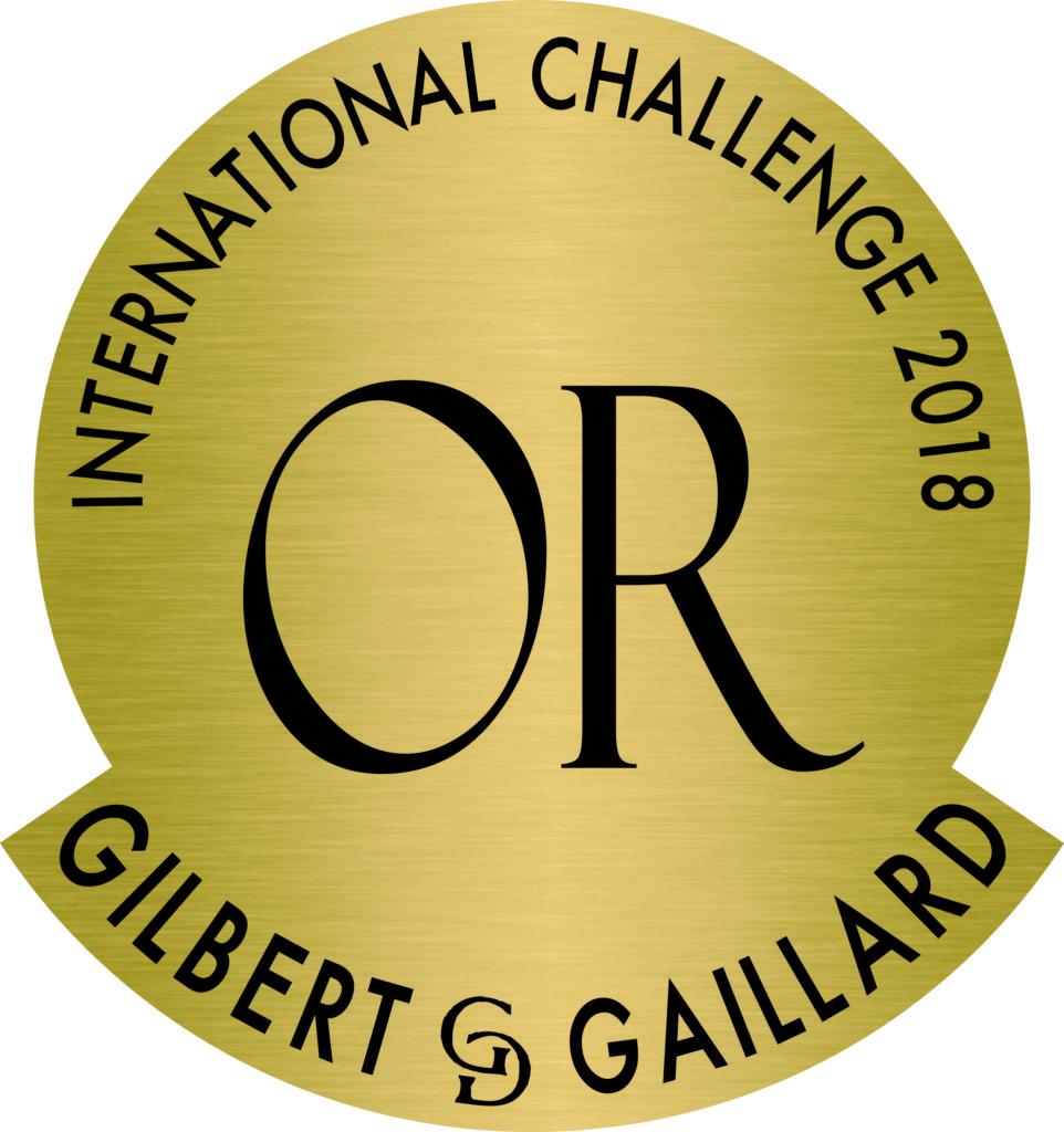 Médaille d'or Gilbert et Gaillard