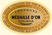 Médaille d'or Colmar