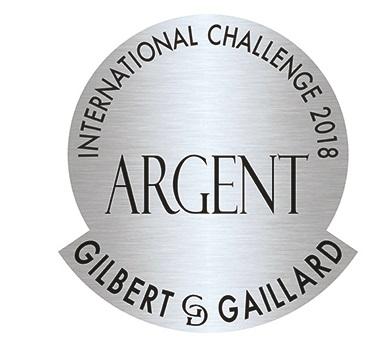 Médaille d'Argent Gilbert et Gaillard